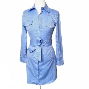 NWT Milly Oxford West Button Up Dress